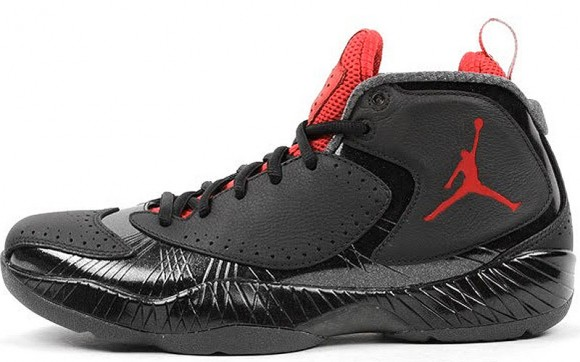 air jordan 2012 black and red basketball shoes