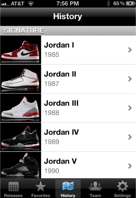 Jordan release date app