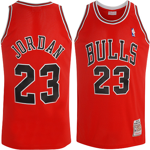 another chance 6eca7 41db6 Mitchell & Ness Chicago Bulls Michael Jordan Authentic Road ...