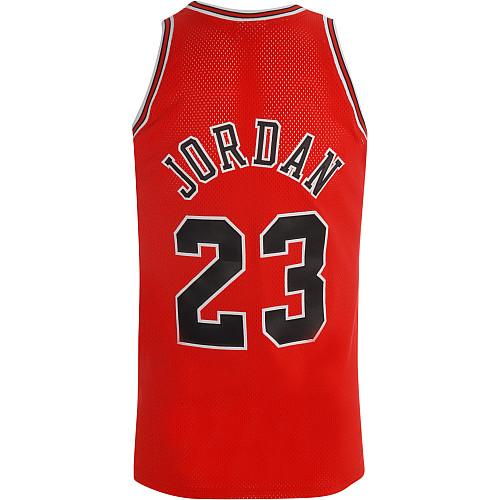 advhsr Mitchell & Ness Chicago Bulls Michael Jordan Authentic Road Jersey