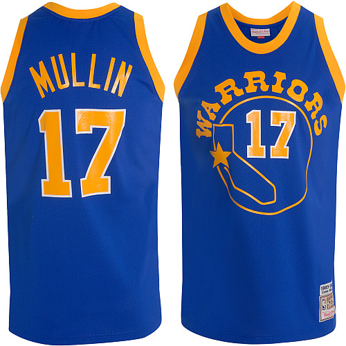 hot sales e5b51 478a3 Mitchell & Ness Golden State Warriors Chris Mullin Authentic ...