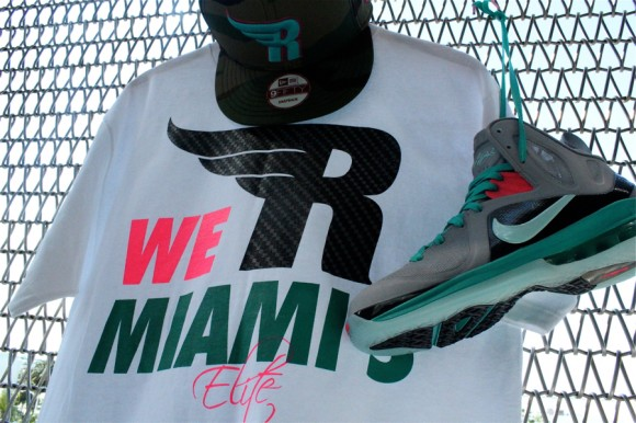 info for abdd5 ad6bc LeBron 9 P.S. Elite  South-Beach  T-Shirt by Mr. R Sports - WearTesters