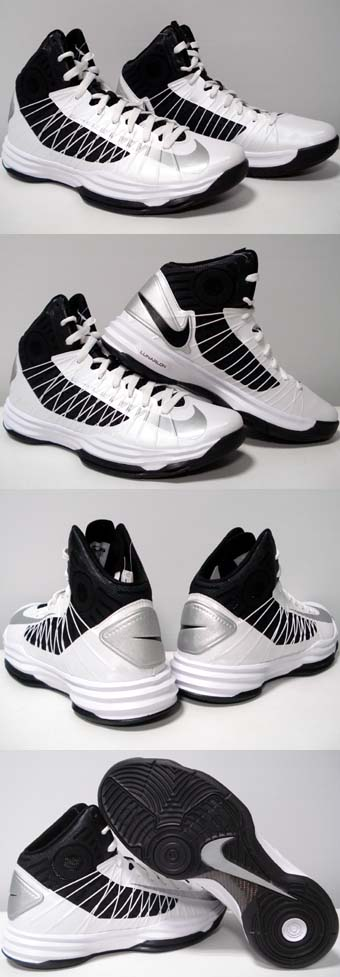 2012 hyperdunks black and white