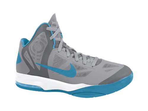 separation shoes 57e9d 3680d ... Nike-Air-Max-Hyperaggressor-Wolf-Grey-Dynamic-Blue- Nike Air Max  Hyperaggressor Mens Basketball Shoes ...