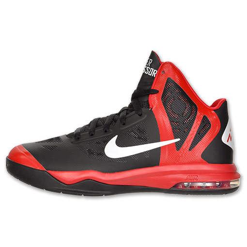Nike Hyper Aggressor Black/ White- University Red ...