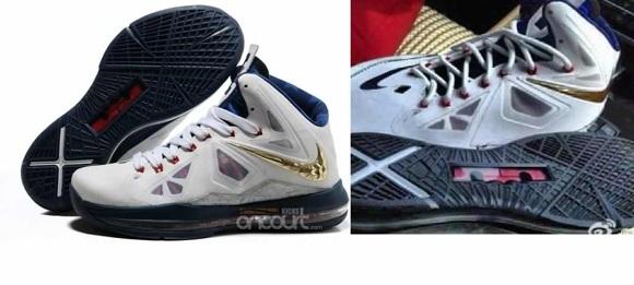 Nike LeBron X (10) Olympic Gold Medal
