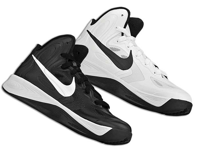 Women's Nike Zoom Hyperfuse 2012 – Black/ White & White/ Black Available Now