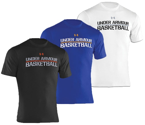 Under Armour Basketball T-Shirts - WearTesters