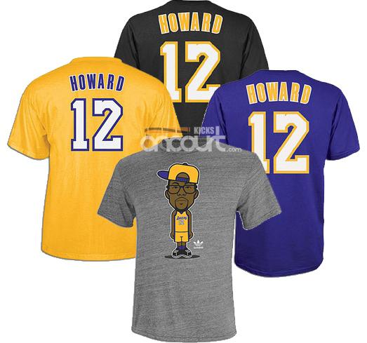 Adidas Game Time Geek Up Dwight Howard T Shirts