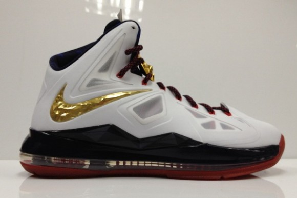 big sale 76a17 bbb8e Nike-LeBron-X+(10)- Gold-Medal -Available