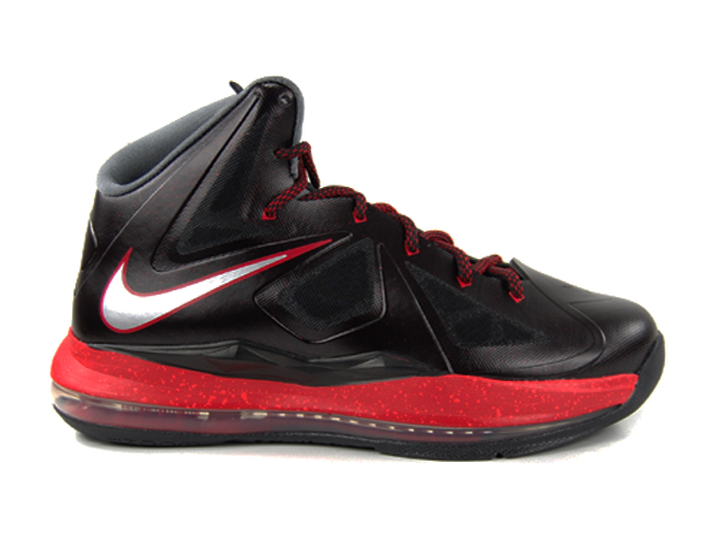 Nike-LeBron-X-(10)-GS-Black-University-Red-Grey-First-Look