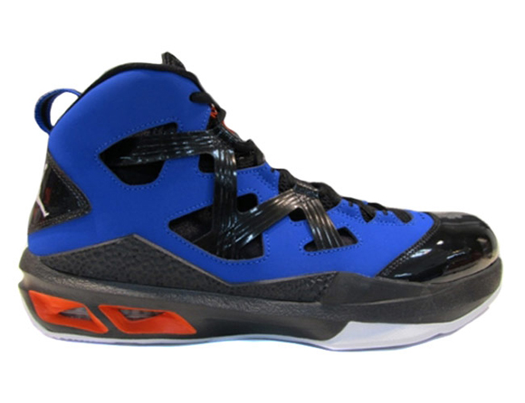 innovative design fb639 32f77 ... Sneaker Kat  air jordan melo orange black ...
