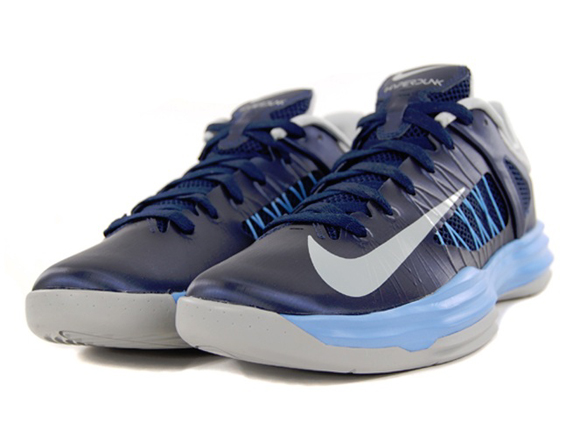 on sale a5d0a a7ea4 ... Nike Lunar Hyperdunk 2012 Low Midnight Navy Grey - University Blue -  Available Now - WearTesters ...