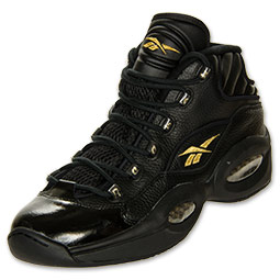 Reebok Question Black/ Gold - Available