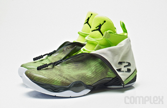 buy popular 95347 5926a Air Jordan XX8 (28) 'Green Cammo' - Detailed Look - WearTesters