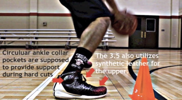 adidas d rose 3 on feet