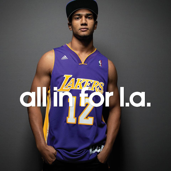 Adidas and dwight howard are all in for la weartesters for Dwight howard adidas shirt