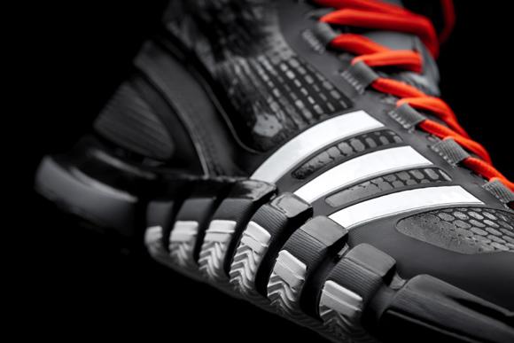 Adidas AdiPure Crazy Quick Black White Vivid Orange
