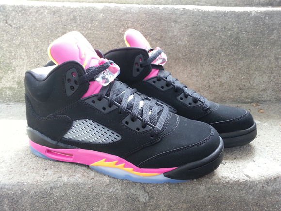 Retro Jordans 5 Black Grapes The 'grape' Air Jordan 5