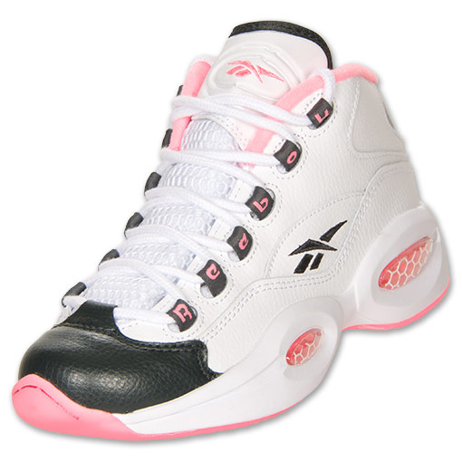 Reebok Pink And White