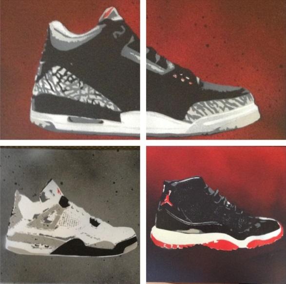 black shoe paint for jordans