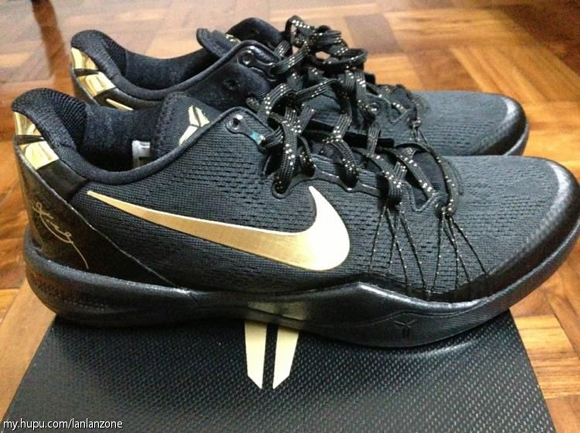 best service 1e0a1 16f83 ... Nike Kobe 8 SYSTEM Elite+ Black Gold - Another Look 1 ...