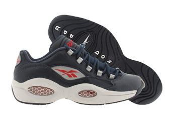 Reebok Question Low Navy Steel  Red - Silver - Available Now 1