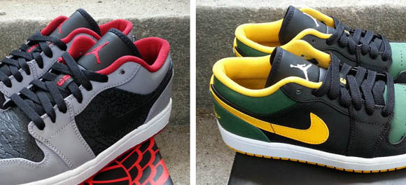 Air Jordan I Low – New Colorways Available Now