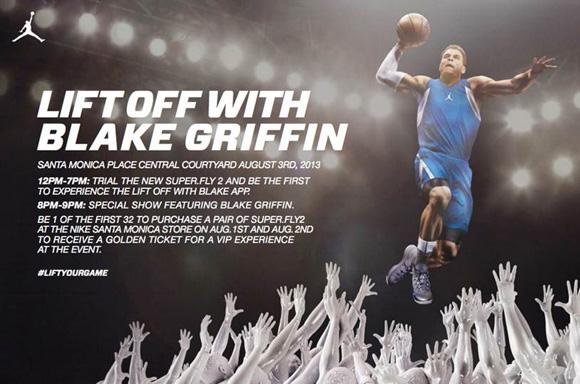 Jordan Brand Super.Fly 2 Event Featuring Blake Griffin at Nike Santa Monica