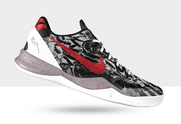 ... NIKEiD Kobe 8 SYSTEM - Graffiti 2; Nike ...