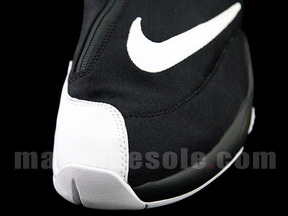 Nike Zoom Flight 98 'The Glove' Black White - Red - Detailed Look 5