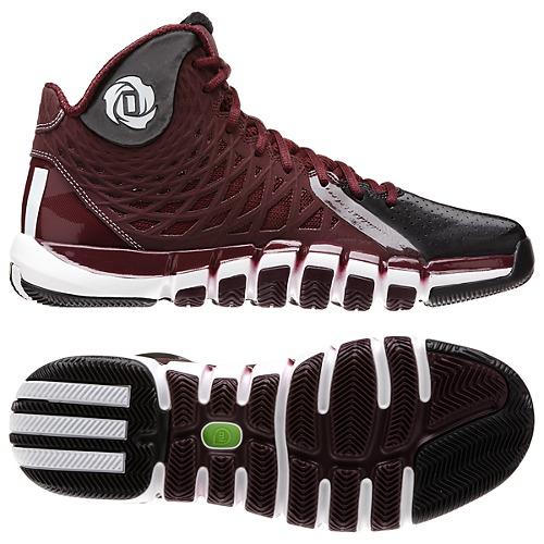 adidas basketball shoes maroon