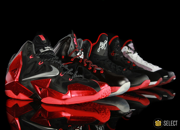 Evolution of the Nike LeBron Signature 1