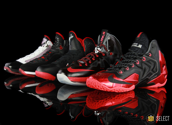 Evolution of the Nike LeBron Signature 2