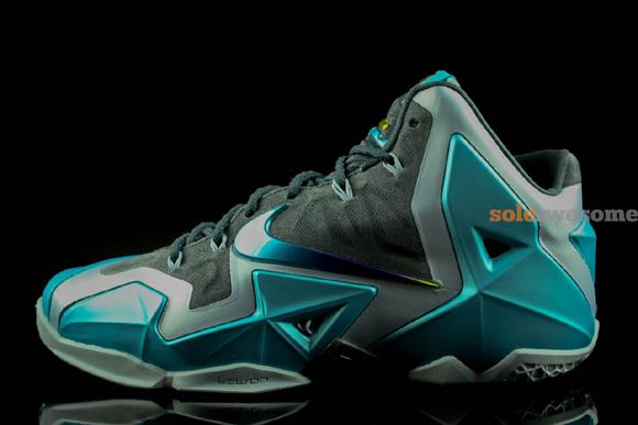 Nike LeBron XI 'Gamma Blue' - Closer Look 2