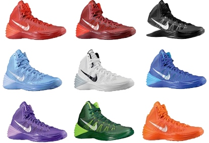 all nike hyperdunks