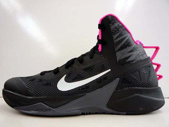 Nike Hyperfuse 2013 Black Pink - Another Look 1