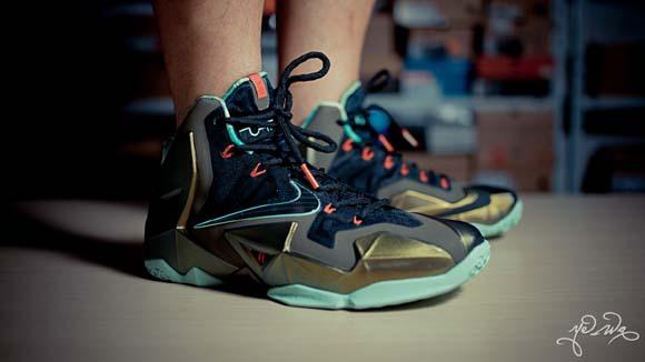 new style 1f9bd db1c0 Nike LeBron XI  Kings Pride  – Detailed Look + Package 13