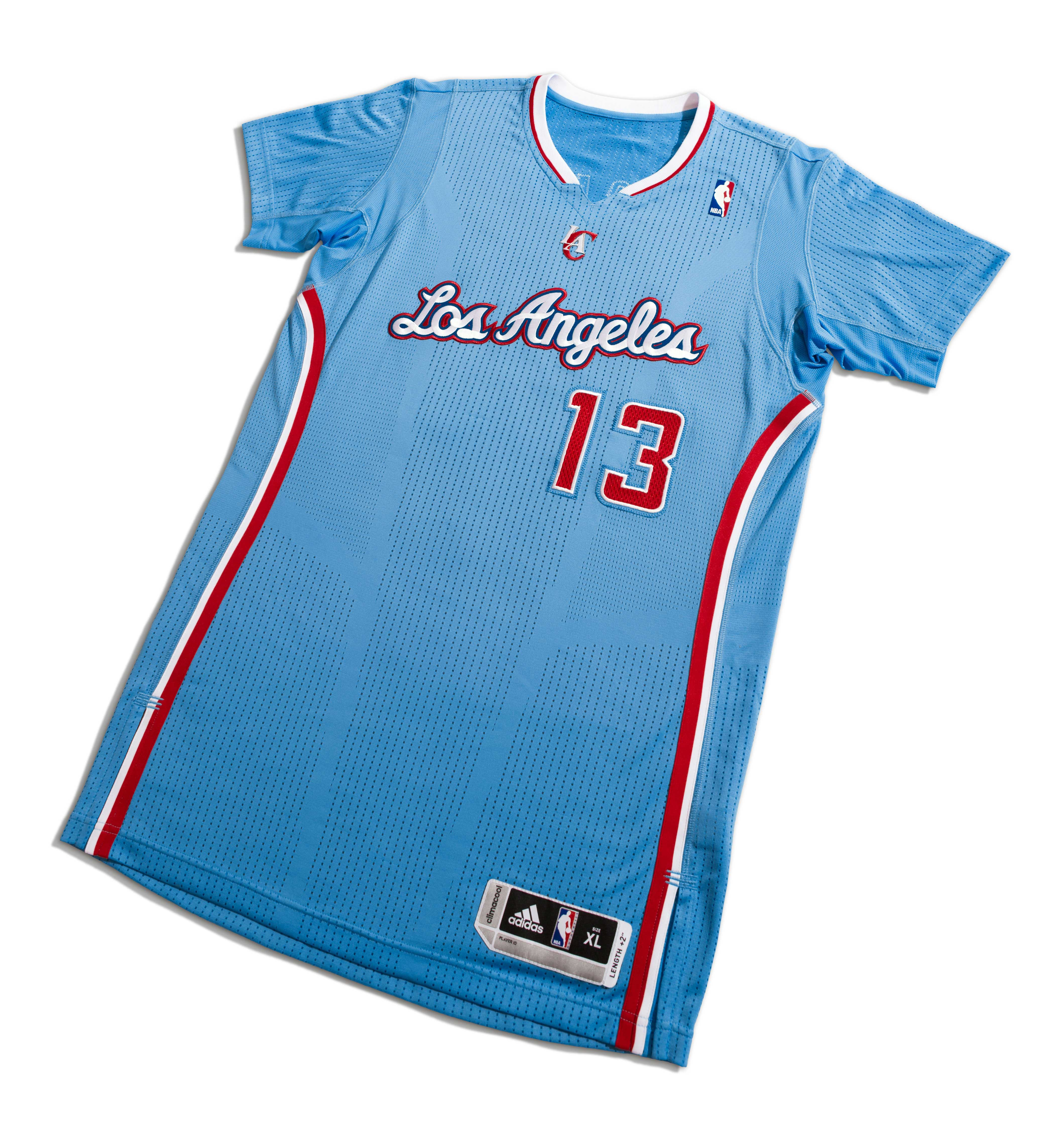 "brand new 6ec58 21348 adidas & LA Clippers Unveil ""Back in Blue"" Pride Uniform ..."