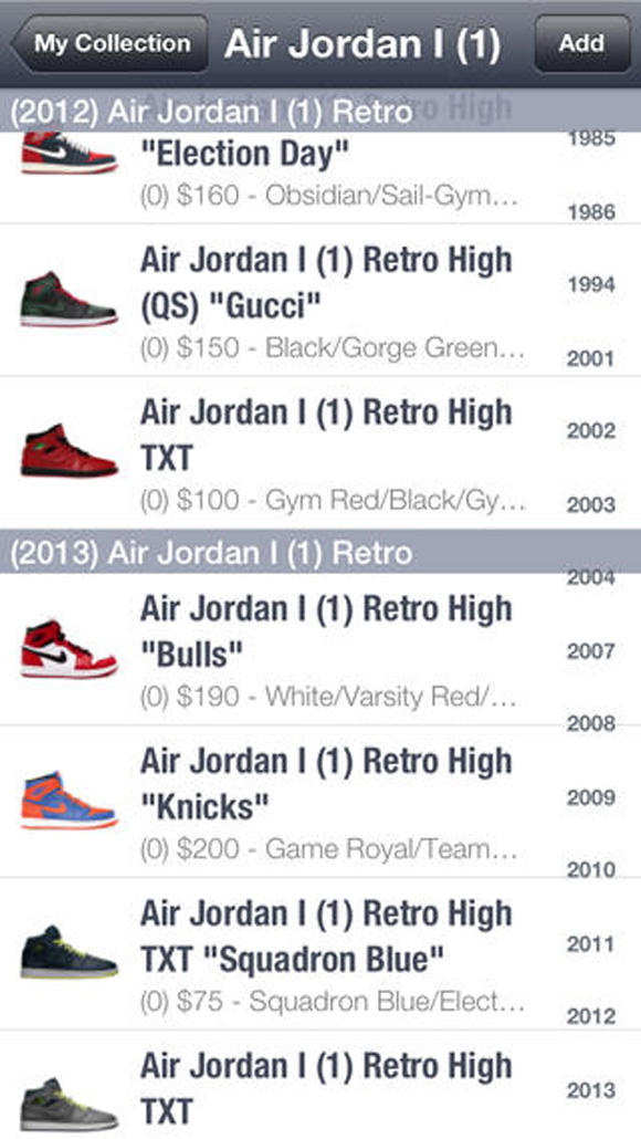 air jordan prices guide