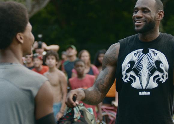 Nike Basketball & LeBron James Training Day 9