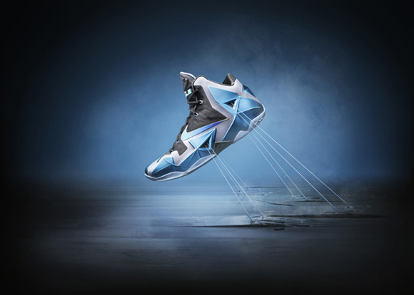 Nike LeBron XI 'Gamma Blue' Official Images + Info 1
