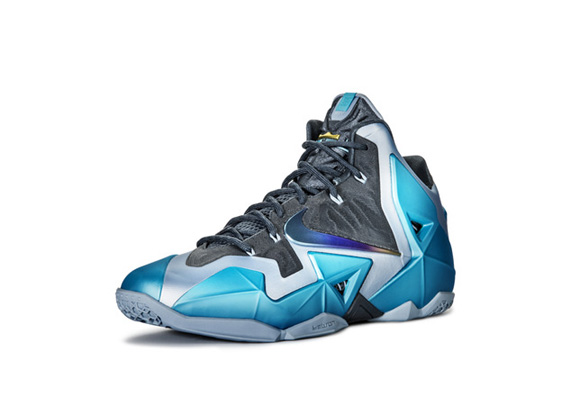 Nike LeBron XI 'Gamma Blue' Official Images + Info 3