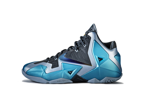 Nike LeBron XI 'Gamma Blue' Official Images + Info 4