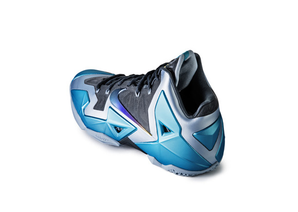 Nike LeBron XI 'Gamma Blue' Official Images + Info 5
