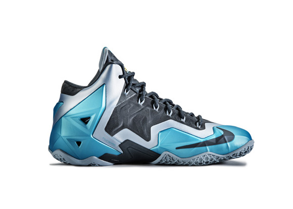 Nike LeBron XI 'Gamma Blue' Official Images + Info 7