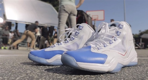 VIDEO Behind the Scenes Reebok Basketball Game Recognize Game Shoot