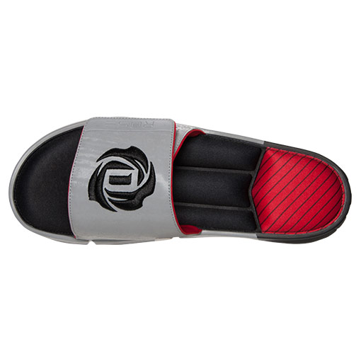 best sneakers 3fe37 8b264 promo code adidas d rose slippers 343bb ce60b