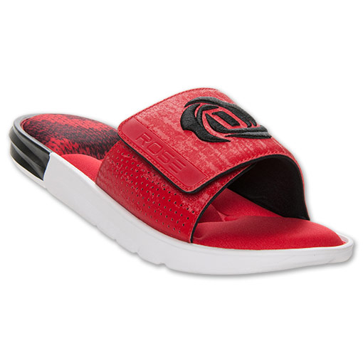 in stock 98fe9 adafc ... wholesale adidas d rose slide sandals available now red 1 8d505 ce1b0