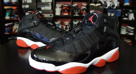 timeless design d8c1a 4ad18 Air Jordan 6 Rings Black/ Red 2013 - Detailed Look & Review ...